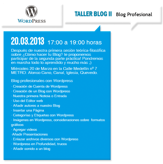 Blog profesionales con WordPress